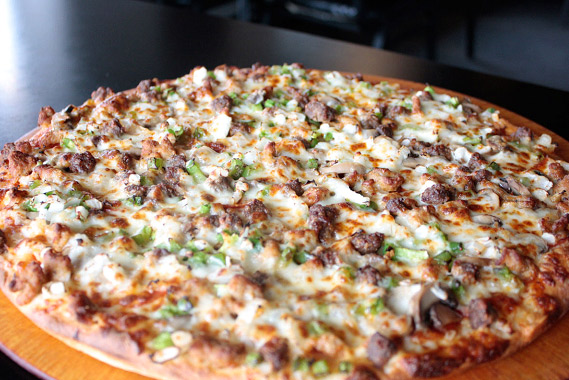 Beef and Chicken Roast Pizzas are always fulfilling